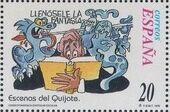 "Spain 1998 Scenes from ""Don Quixote"" b"