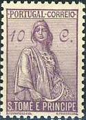 St Thomas and Prince 1934 Ceres - New Values c