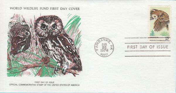 United States of America 1978 Wildlife Conservation Issue FDCb