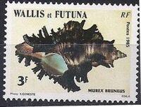 Wallis and Futuna 1985 Sea Shells b