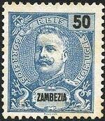 Zambezia 1898 D. Carlos I g