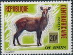 Central African Republic 1975 Wild Animals c