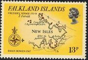 Falkland Islands 1981 18th Century Maps and Charts of the Falkland Islands c