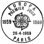 France 1969 EUROPA PMa