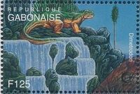 Gabon 1995 Prehistoric Wildlife d
