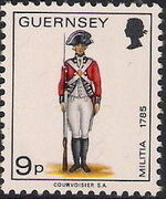 Guernsey 1974 Military Uniforms Definitive Issue l