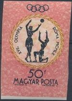 Hungary 1960 Summer Olympic Games - Rome 1960 o