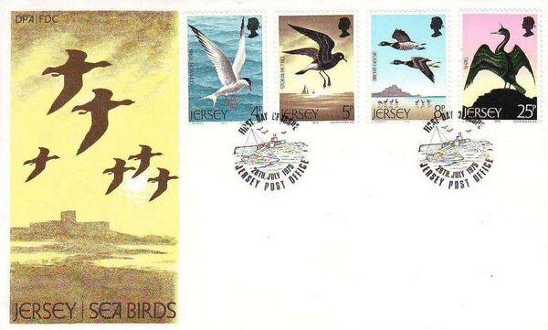 Jersey 1975 Sea Birds f