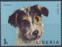 Liberia 1974 Dogs a