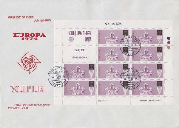 Malta 1974 Europa wi