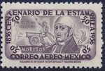 Mexico 1956 Centenary of Mexico's 1st Postage Stamps (Air Post Stamps) c