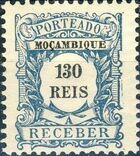 Mozambique 1904 Postage Due Stamps h