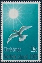 Norfolk Island 1976 Christmas a