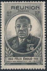 Reunion 1945 Felix Eboue a