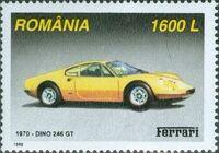 Romania 1999 Ferrari Cars b