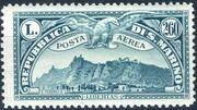 San Marino 1931 Air Post Stamps e