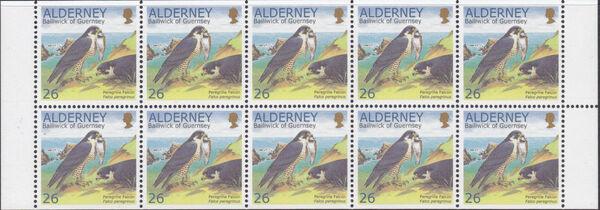 Alderney 2000 WWF Peregrine Falcon Bb1