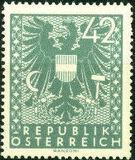 Austria 1945 Coat of Arms p