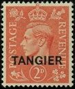"British Offices in Tangier 1949 King George VI Overprinted ""TANGIER"" a"