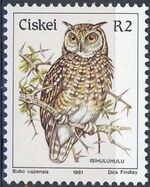 Ciskei 1981 Definitive - Birds q