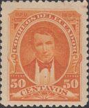 Ecuador 1895 President Vicente Rocafuerte f