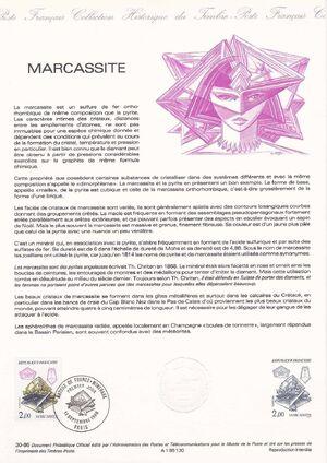 France 1986 Minerals FOLa