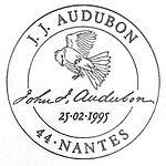 France 1995 Birds by J.J. Audubon qa