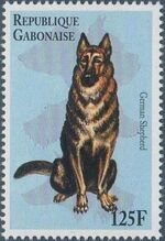 "Gabon 1996 ""China '96"" Philatelic Exhibition - Dogs d"