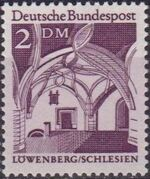 Germany, Federal Republic 1966 Building Structures from Twelve Centuries (1st Group) f