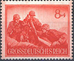 Germany-Third Reich 1944 Armed Forces and Heroes Day e