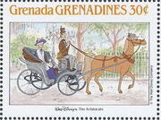 Grenada Grenadines 1988 The Disney Animal Stories in Postage Stamps 6a