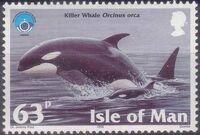 Isle of Man 1998 Year of the Ocean - Marine Mammals e