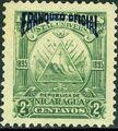 Nicaragua 1895 Official Stamps Overprinted in Blue b.jpg