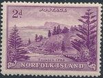 Norfolk Island 1947 Ball Bay - Definitives d