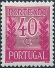 Portugal 1940 Postage Due Stamps e