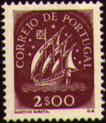 Portugal 1943 Portuguese Caravel (2nd Issue) g