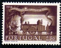 Portugal 1956 Centenary of Portuguese Railways d