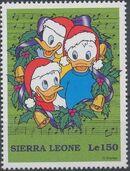 Sierra Leone 1997 Disney Christmas Stamps a