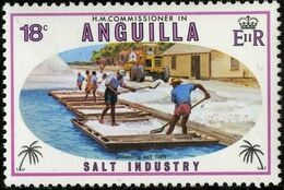 Anguilla 1980 Salt Industry c