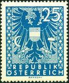 Austria 1945 Coat of Arms l