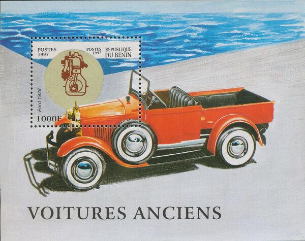 Benin 1997 Antique Automobiles ss