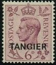 "British Offices in Tangier 1949 King George VI Overprinted ""TANGIER"" f"