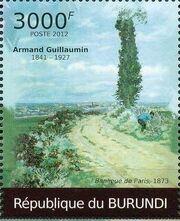 Burundi 2012 Paintings by Armand Guillaumin d