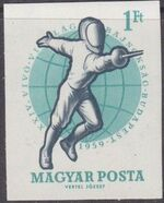 Hungary 1959 24th World Fencing Championships af