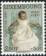 Luxembourg 1961 Prince Henri d