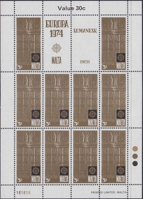 Malta 1974 Europa wb