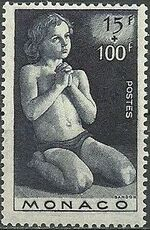 Monaco 1946 Child Welfare Fund f