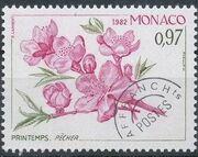 Monaco 1982 The Four Seasons of the Peach Tree a