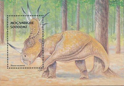 Mozambique 2002 Dinosaurs i