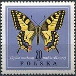 Poland 1967 Butterflies b